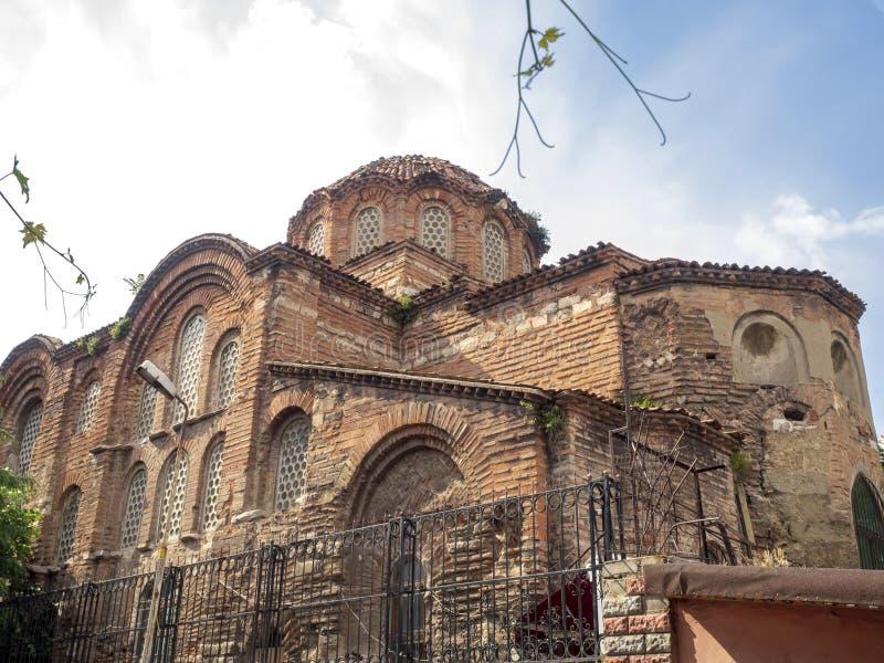 Gul Rose Mosque - St Theodosia Monastery - Hagia Theodosia Church in Istanboel stock afbeelding