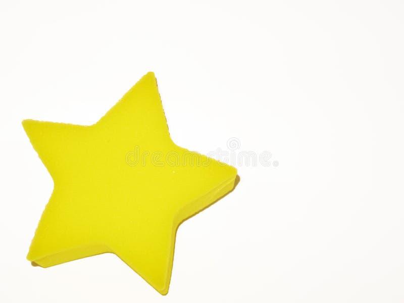 Gul stjärna royaltyfria bilder