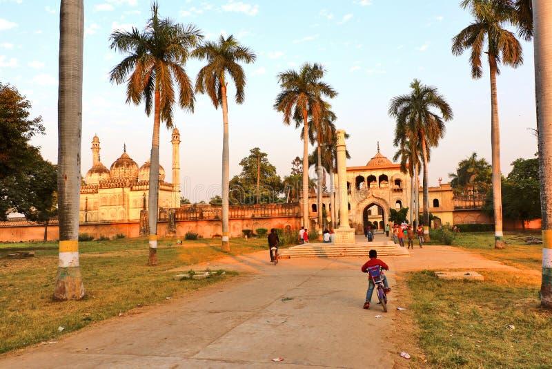 Gulab Bari dans Faizabad où la tombe de Nawab Shuja-ud-daula le troisième Nawab d'Awadh, est localisée photo stock
