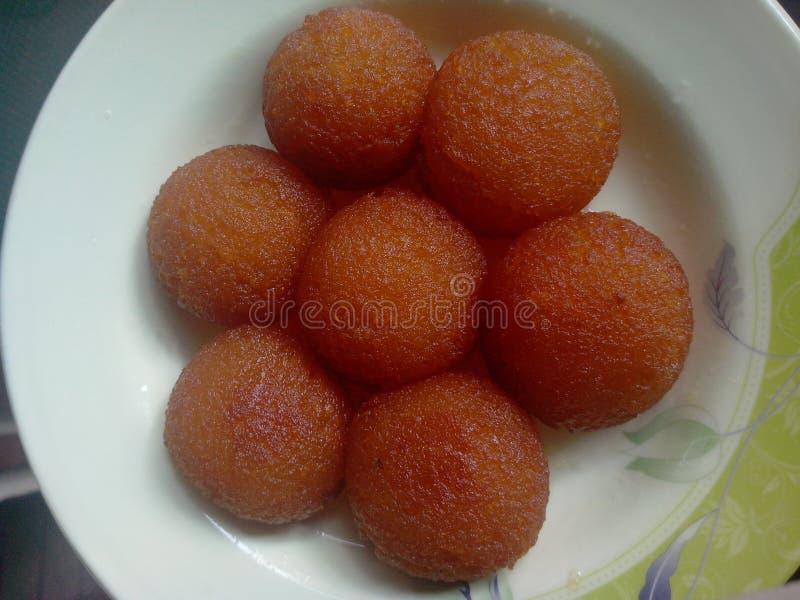 Gulab Jaman - Desi Sweets immagini stock