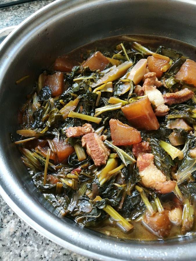 gulaszu chiński warzywo zdjęcie stock