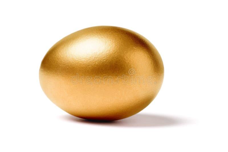 guld- ägg royaltyfri foto