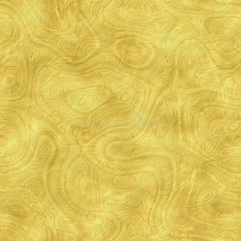 Guld- översikt för textur vektor illustrationer