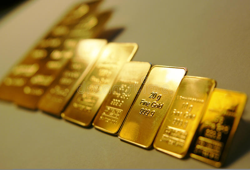 guld royaltyfri bild