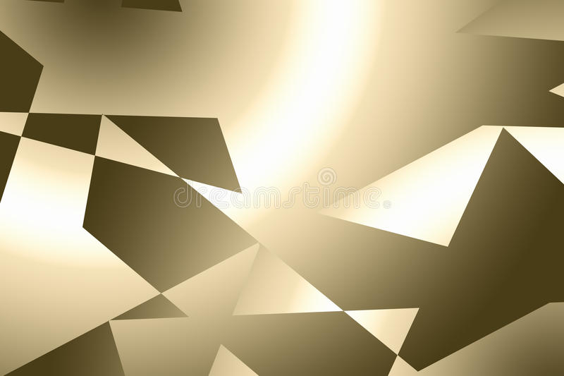 guld- abstrakt bakgrund royaltyfri illustrationer