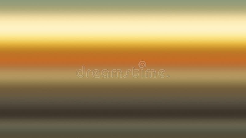 Guld- abstrakt begrepp för himmelbakgrundslutning, ljus stock illustrationer