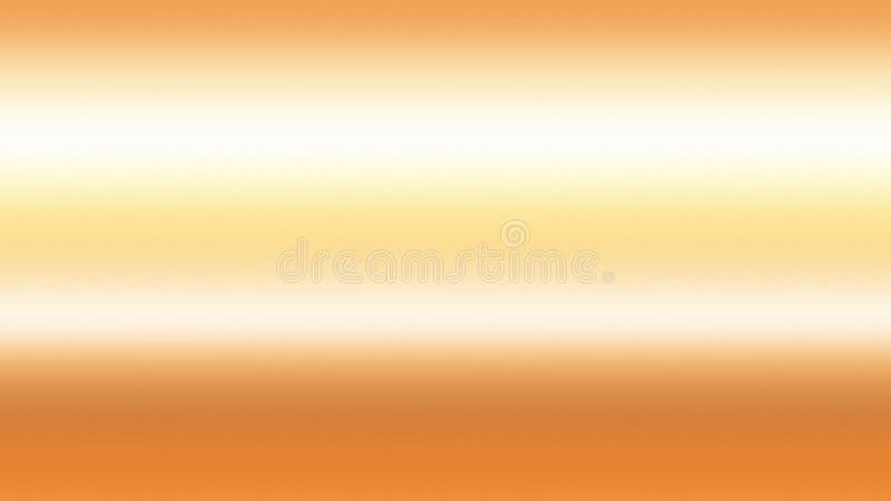 Guld- abstrakt begrepp för himmelbakgrundslutning, natursol royaltyfri illustrationer