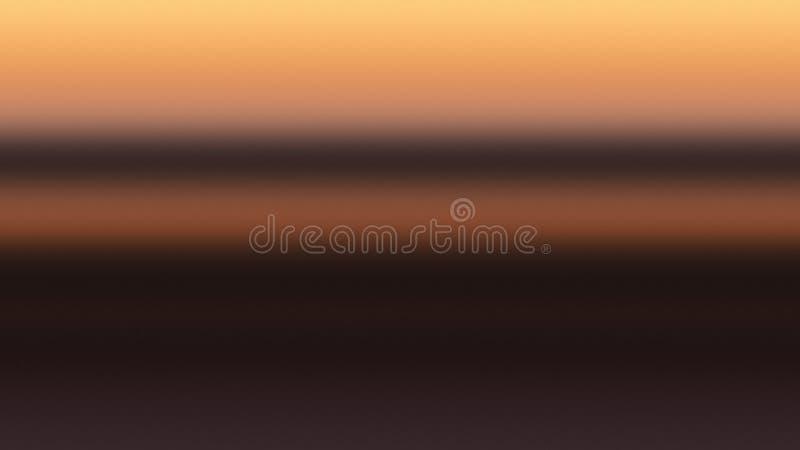 Guld- abstrakt begrepp för himmelbakgrundslutning, guld- soluppgång royaltyfri illustrationer