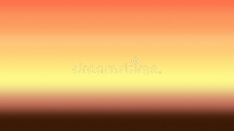 Guld- abstrakt begrepp för himmelbakgrundslutning, guld- tapet royaltyfri illustrationer