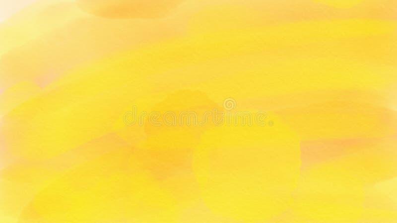 Guld- bakgrund för enorm abstrakt vattenfärg för webdesign, färgrik bakgrund som är suddig, tapet royaltyfri fotografi