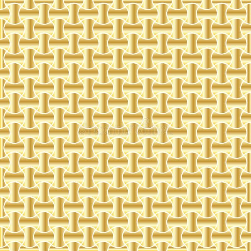 Guld- bakgrundsmodell vektor illustrationer