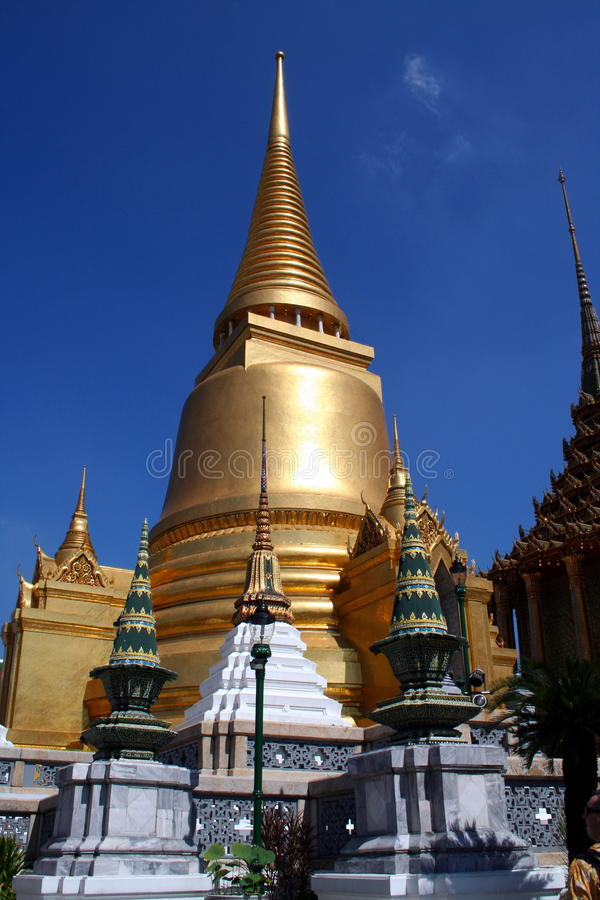 guld- bangkok royaltyfria foton