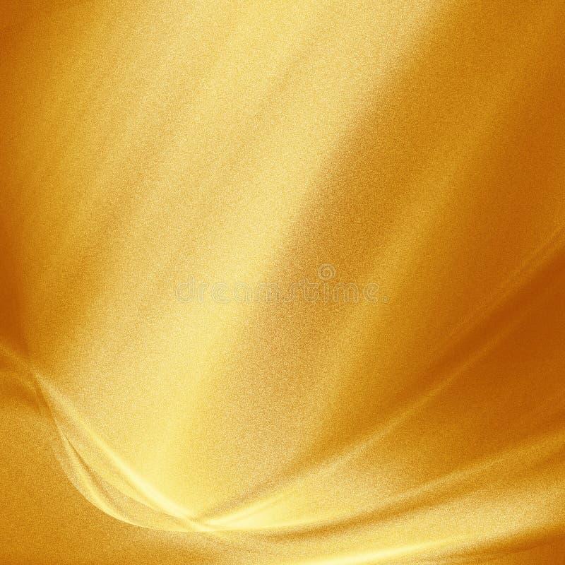 Guld- belägga med metall prucken bakgrund texturerar royaltyfri illustrationer