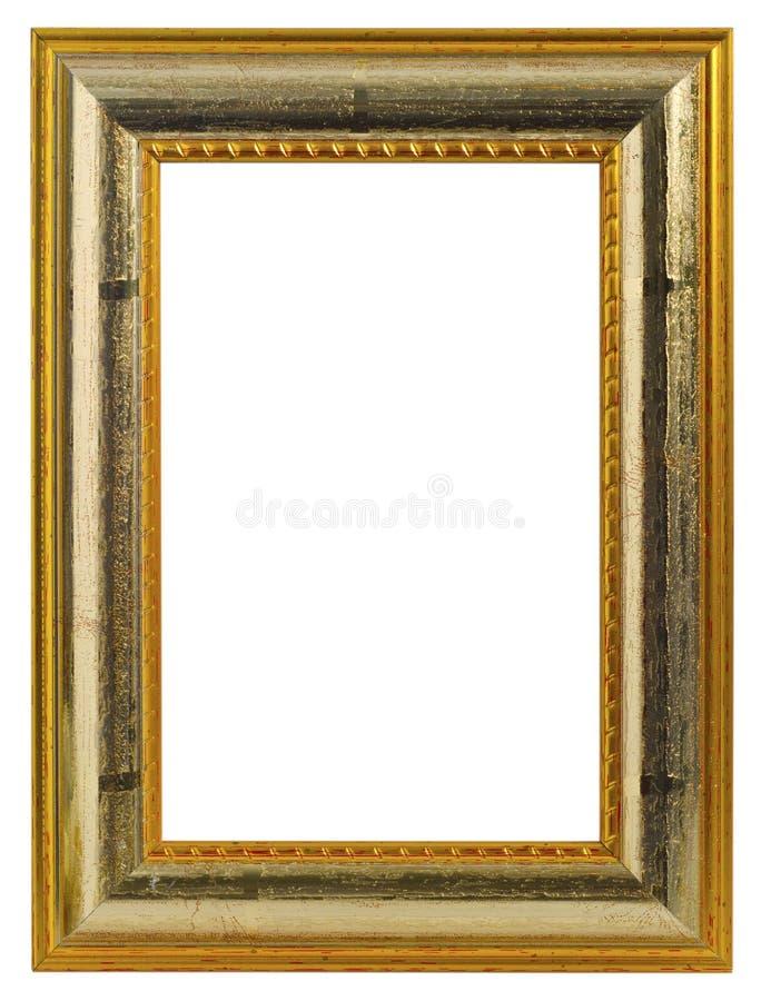 guld- bild för ram royaltyfri foto