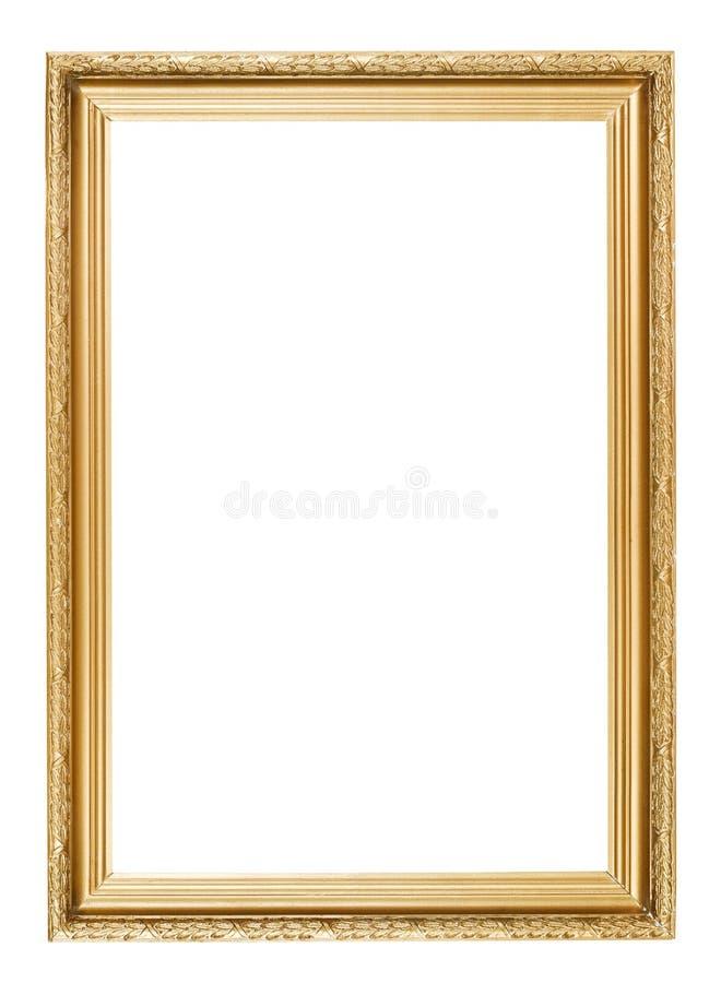 Guld- bildram arkivfoton
