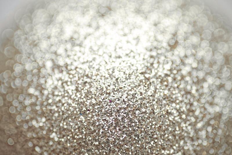 Guld- blänka lyxig textur Glänsande bakgrund för parti för berömbegrepp arkivfoto