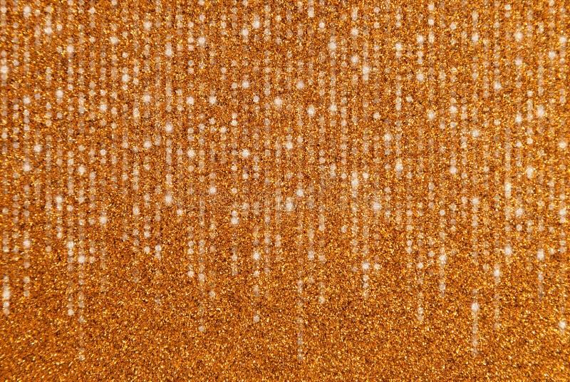 Guld blänker gränsen med att applådera ljus fotografering för bildbyråer