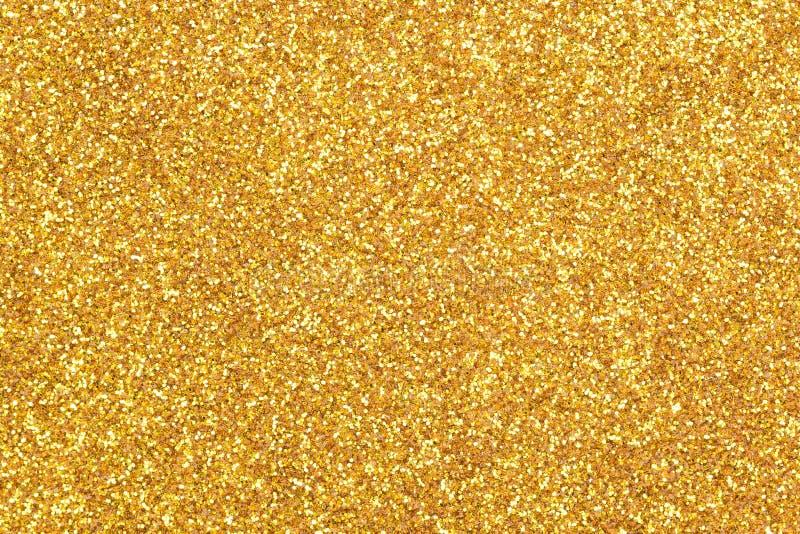 Guld blänker texturbakgrund royaltyfria foton