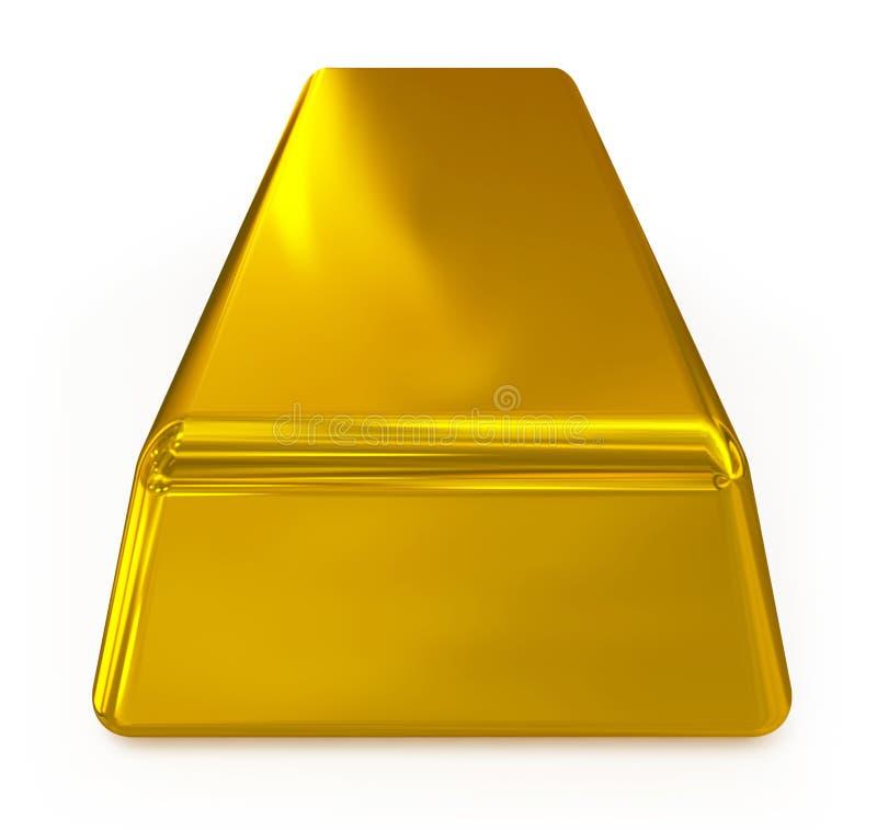 Guld- bomma för vektor illustrationer