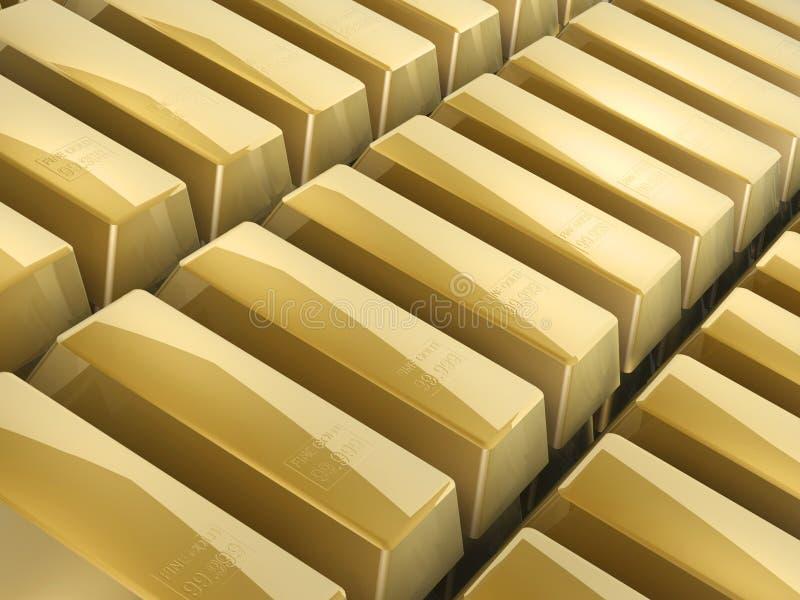 Guld- bommar för fotografering för bildbyråer