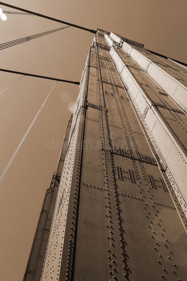 guld- broport arkivfoto