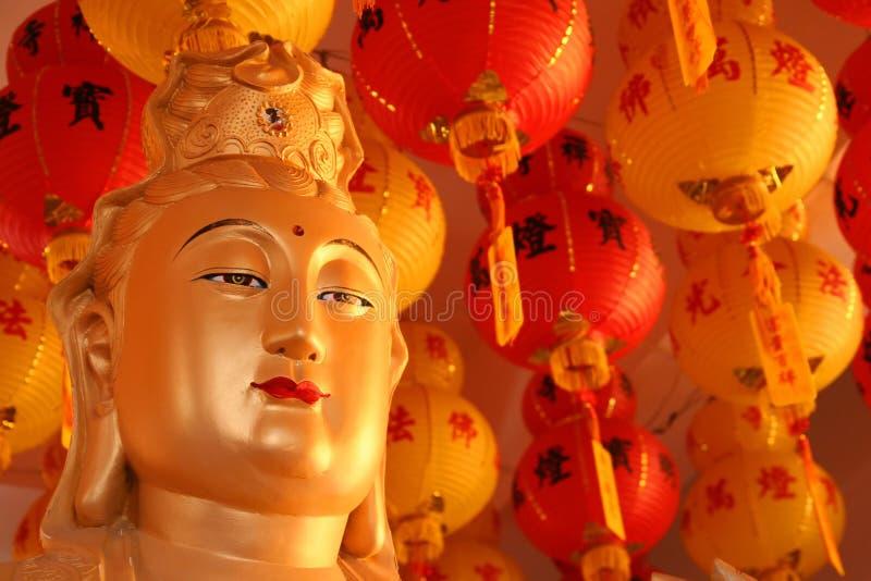 Guld- Budda royaltyfri bild