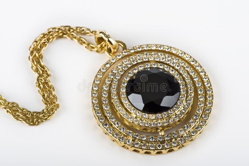 guld- chaplet royaltyfri fotografi
