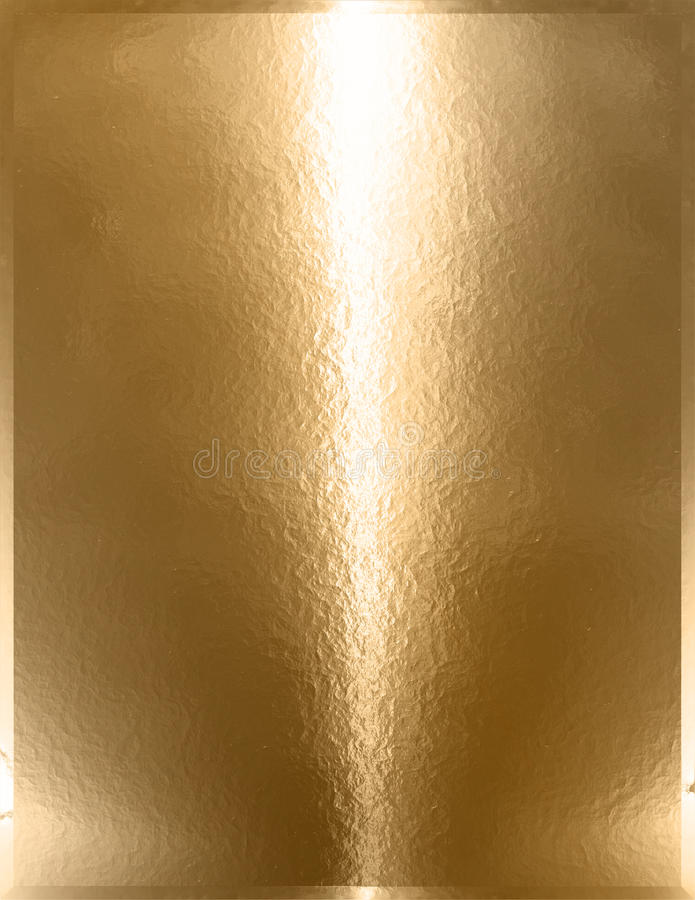 Guld- Chrome metall royaltyfri bild