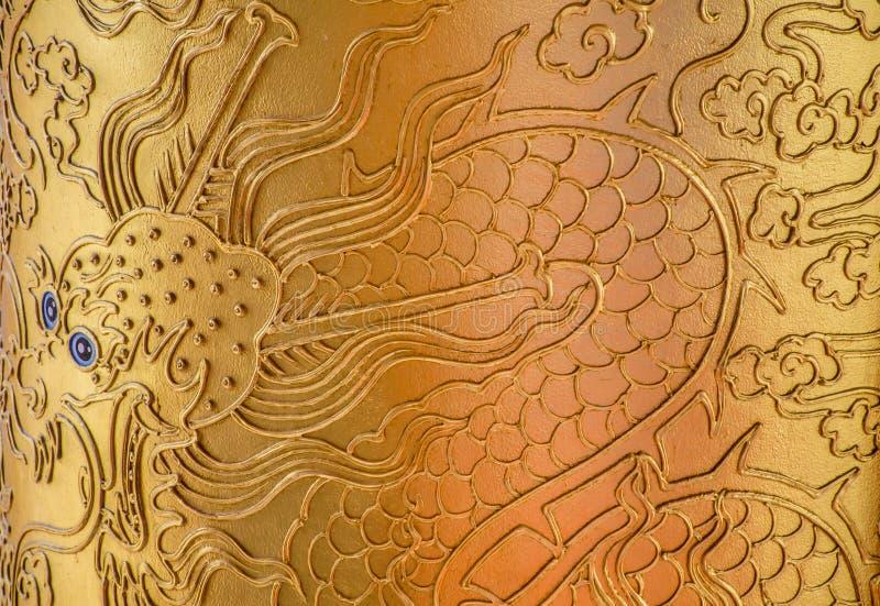guld- drake arkivbild