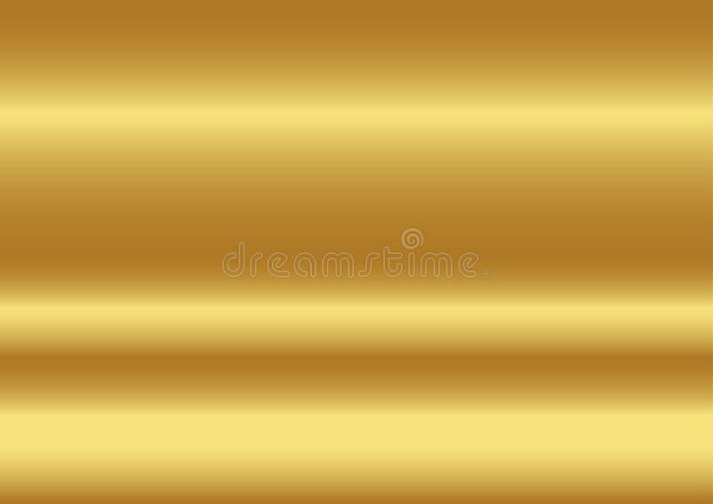 Guld- färgabstrakt begreppbakgrund, vektorillustrationer royaltyfri illustrationer