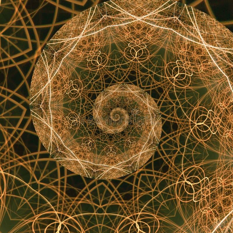 guld- förhållande vektor illustrationer