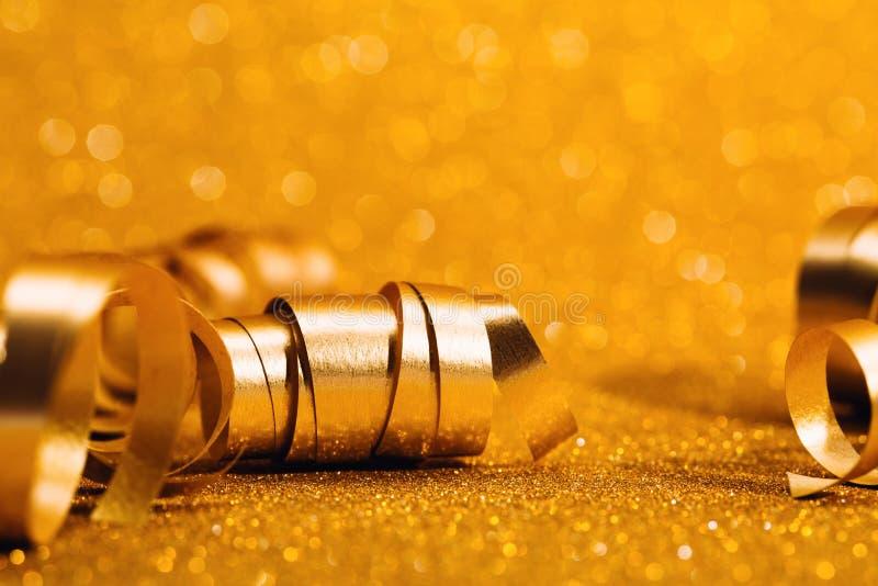 Guld- festlig virvel fotografering för bildbyråer