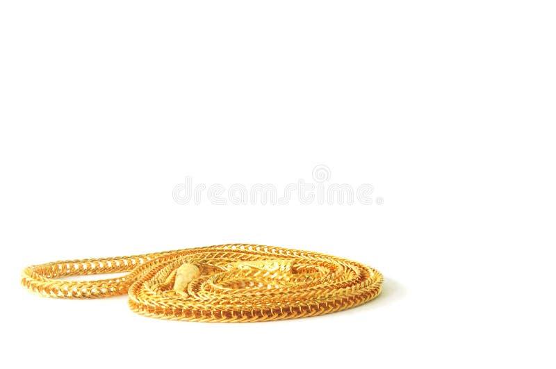 Guld- hals 0 5 gram arkivfoto