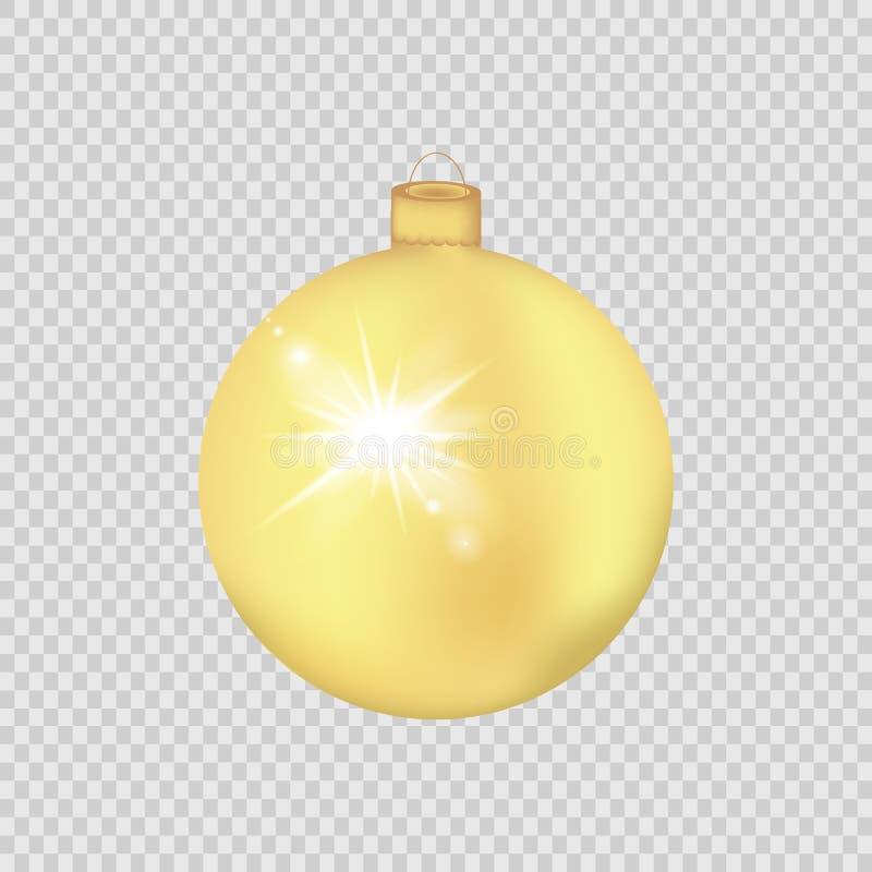 Guld- jul klumpa ihop sig isolerat på en genomskinlig bakgrund också vektor för coreldrawillustration vektor illustrationer