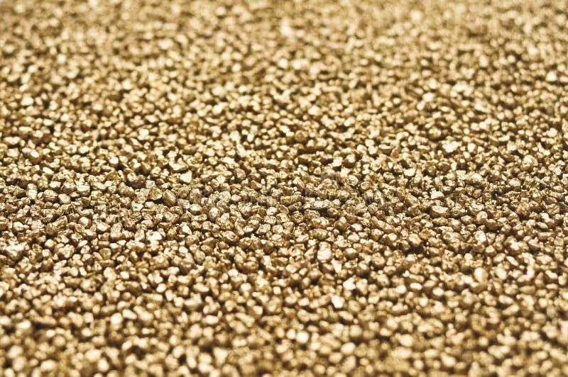 Guld- klumpar royaltyfria foton