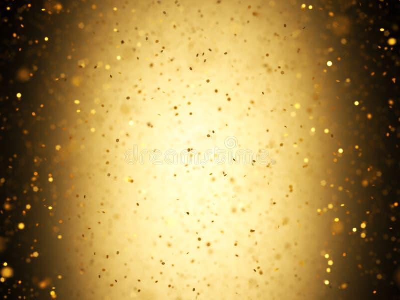 Guld- konfettier