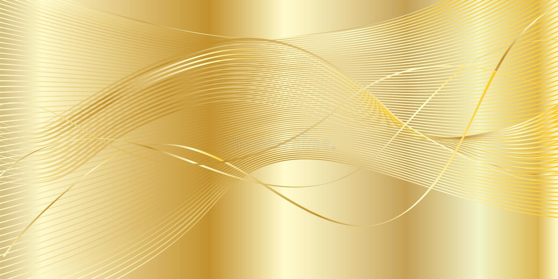Guld- krabb bakgrund stock illustrationer