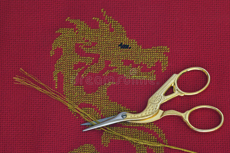 guld- krandrake royaltyfri fotografi
