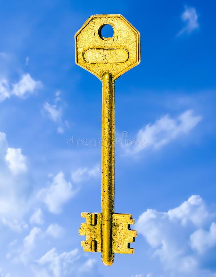 guld- lösning arkivfoto