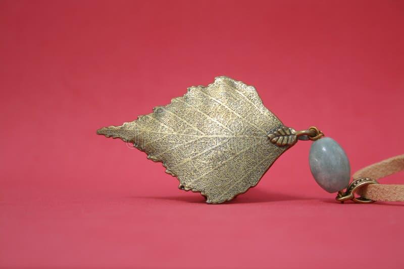 guld- leaf royaltyfri bild