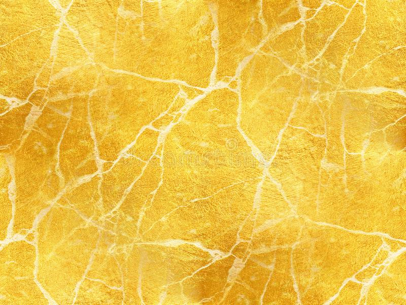 Guld- marmorera textur - abstrakt bakgrund arkivbild
