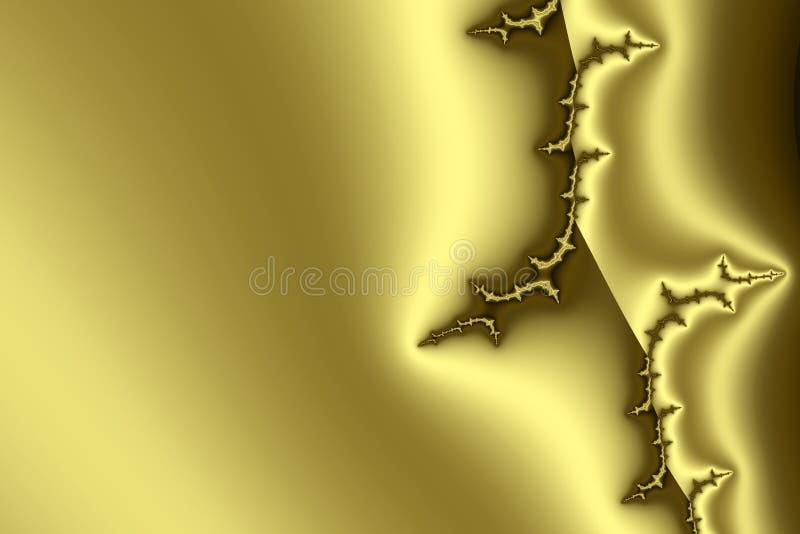 guld- modell ii royaltyfri illustrationer