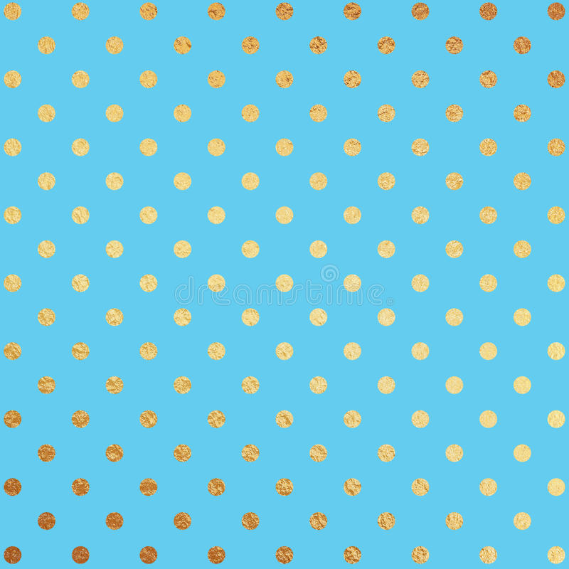 Guld- och blåttfoliebakgrund vektor illustrationer