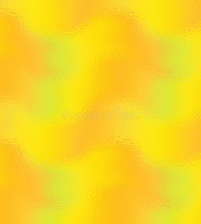 Guld och guling glaserade glass textur och bakgrund vektor illustrationer