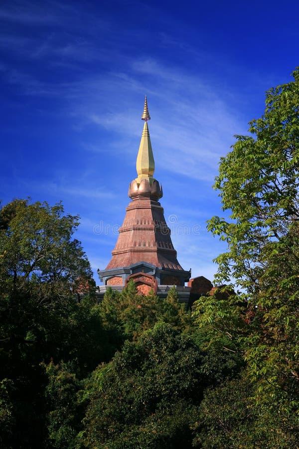 guld- pagoda arkivbild