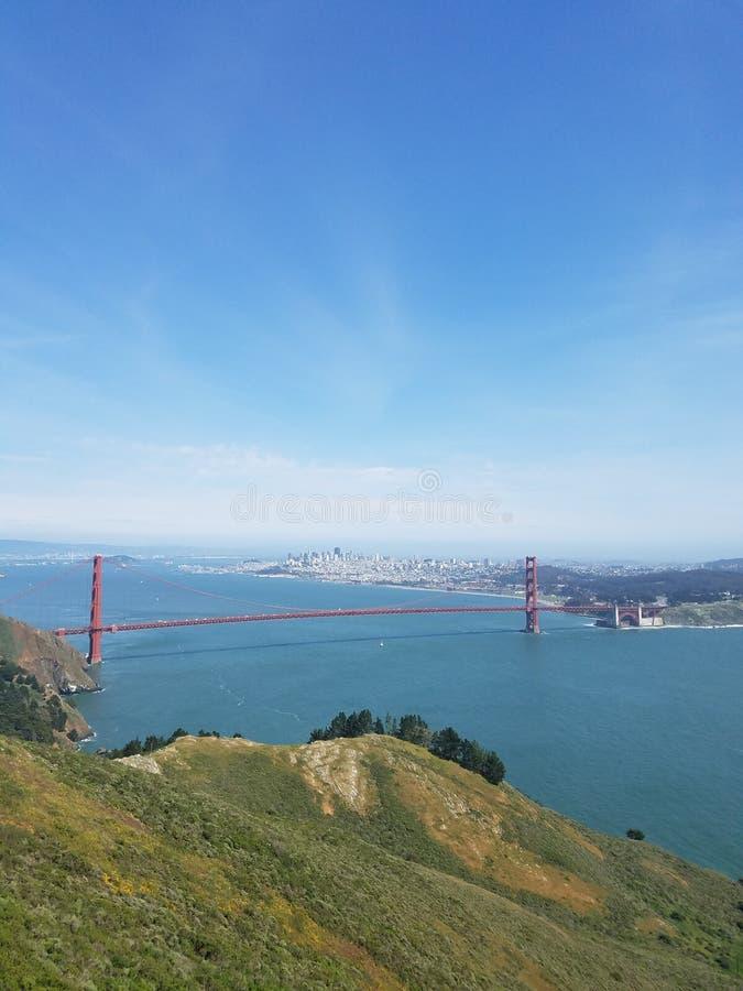Guld- port i San Francisco USA arkivbild