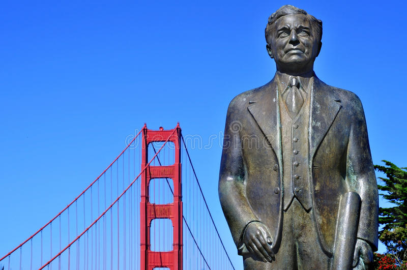 Guld- portbro, San Francisco, United States arkivfoton