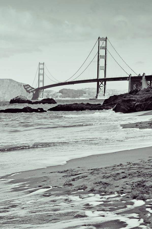 Guld- portbro, San Francisco, United States arkivfoto