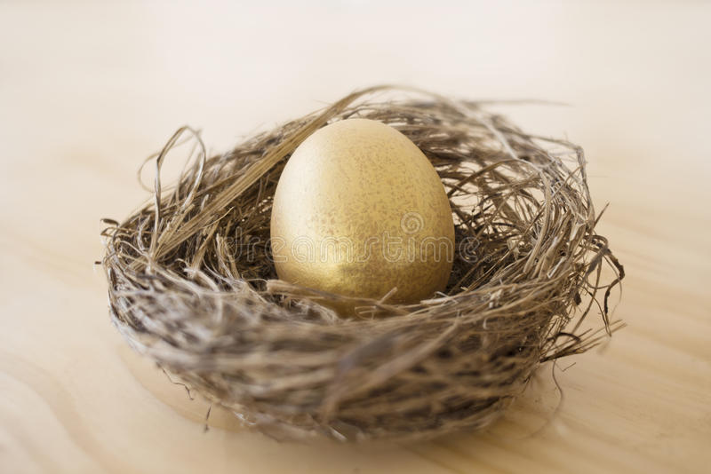 guld- rede för ägg arkivfoton
