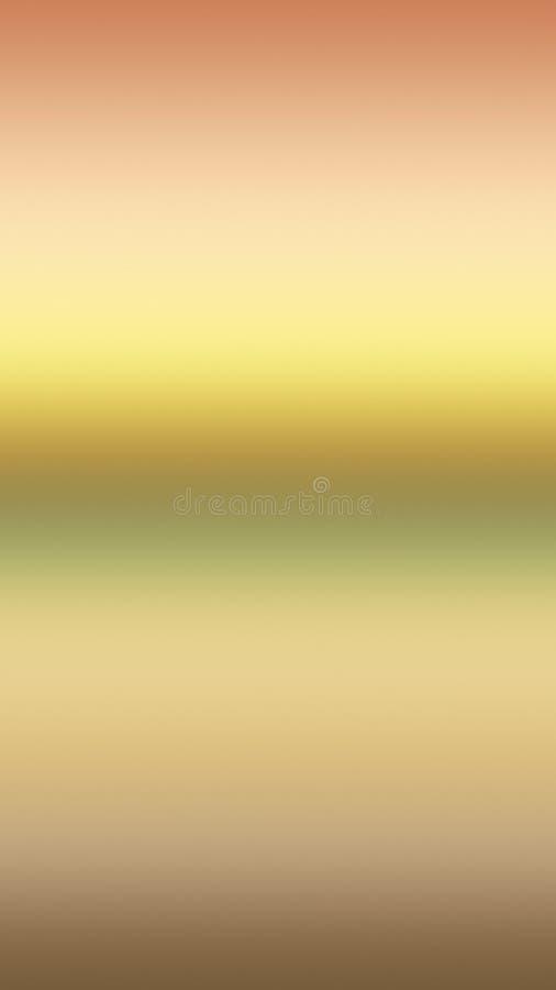 Guld- solnedgång för himmellutningbakgrund, färgtapet stock illustrationer